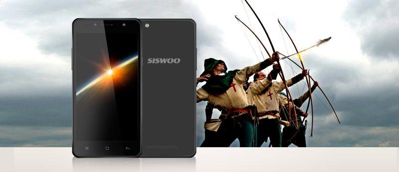 Mobiltelefon, Android Okostelefon,  Siswoo C50 Longbow, Fehér
