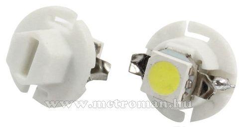 Autós műszerfal LED izzó, B8.4D Fehér