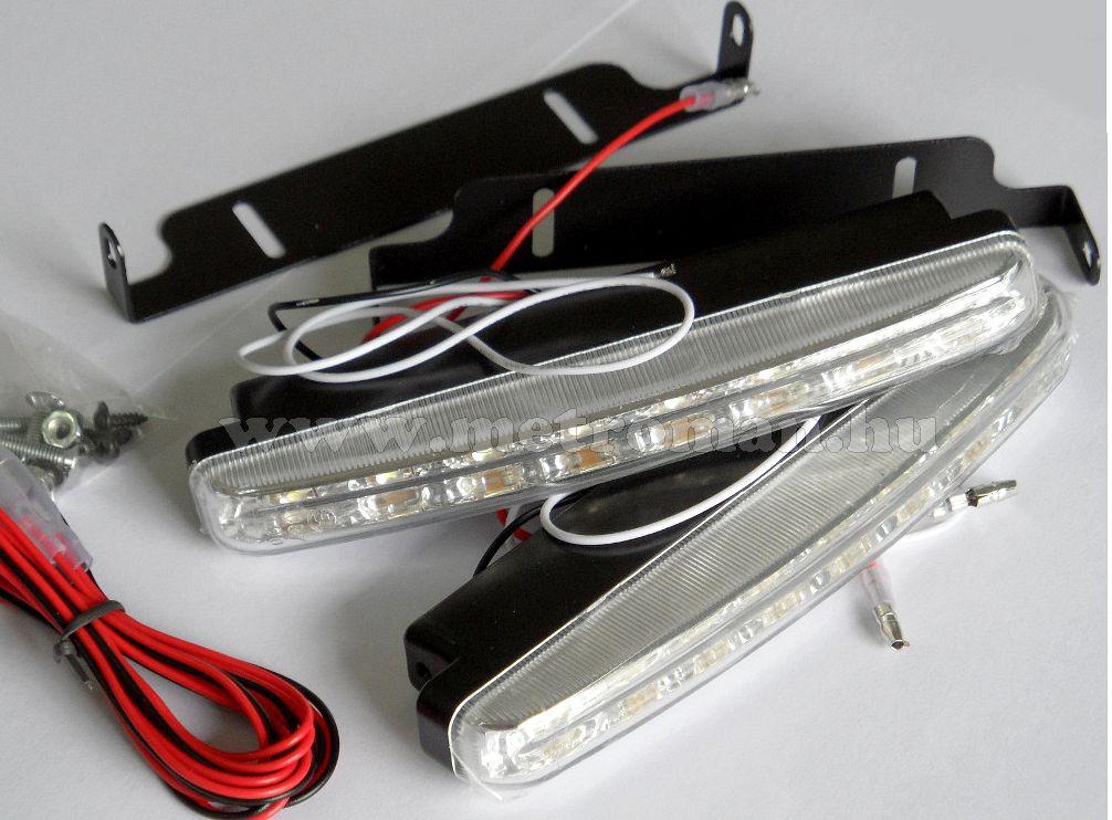 Nappali menetfény LED, DRL, E jeles, MLogic ST-14