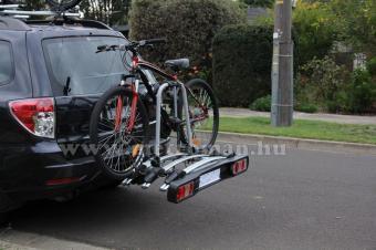Autós kerékpártartó, kerékpárszállító vonóhorogra, MMT MM-TD4