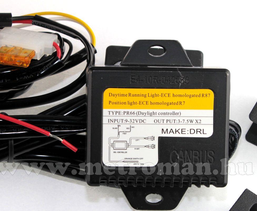 Nappali menetfény LED, DRL, E jeles, M-Tech 901HP