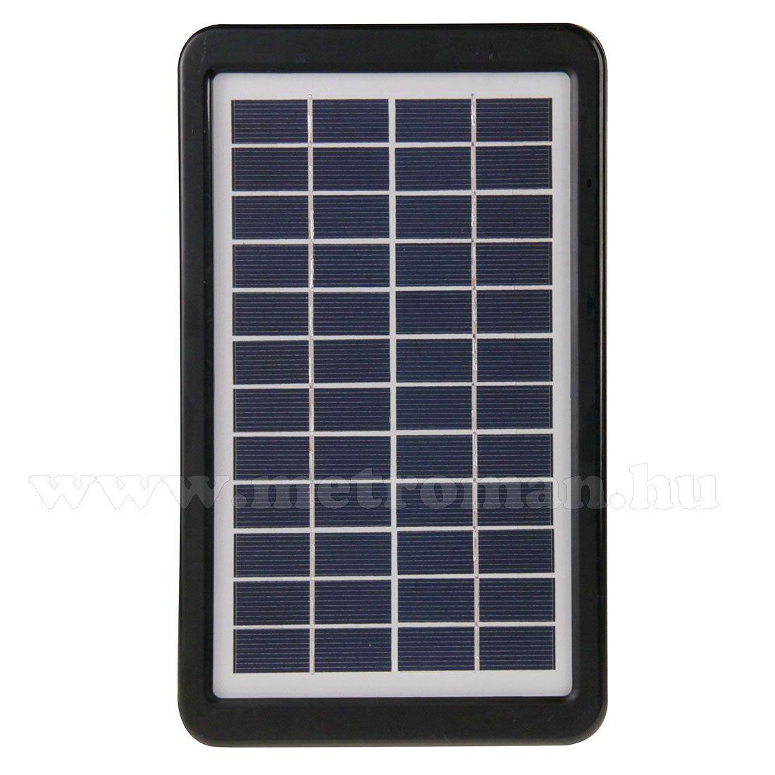 Hordozható napelem, 12V/3W, Mlogic MM-9909B