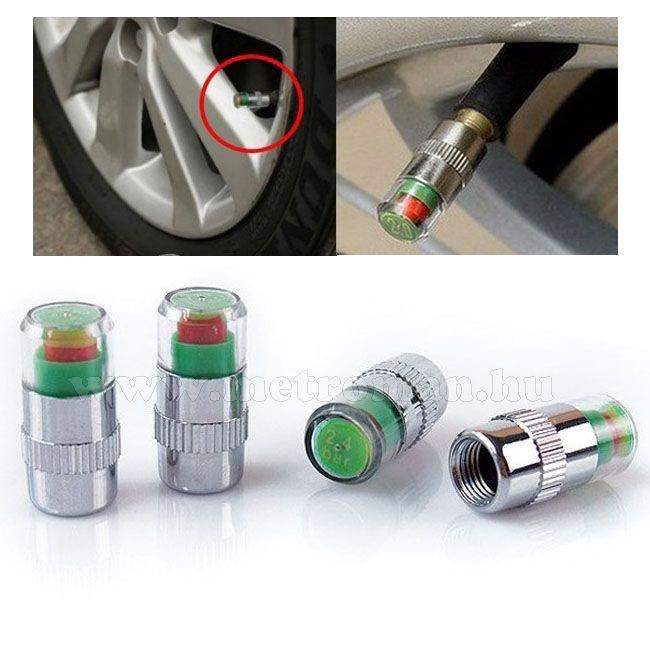 Keréknyomás jelzős, autós szelepsapka szett MM-0270
