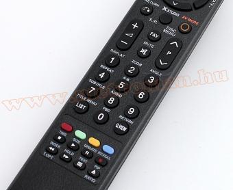 Után gyártott TV távirányító, LG LCD és LED TV-hez, UNI UCT-031