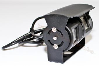 Két kamerás, fémházas tolatókamera, 24 Volt,  Nvox GDB202D-24