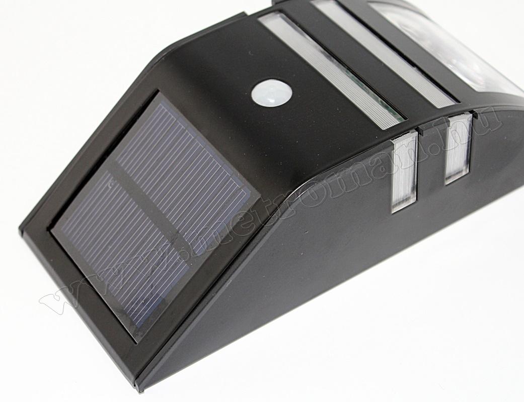 Napelemes, mozgásérzékelős, LED reflektor, WFD10005
