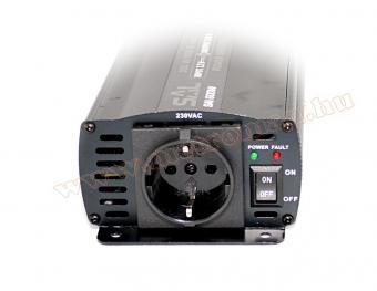 Feszültségátalakító, inverter, 300/600 W, 12/230 V, SAI 600 W