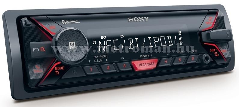 MP3 USB autórádió, Sony DSX-A400BT