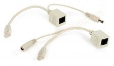 POE tápfeladó adapter kábel szett, 3862