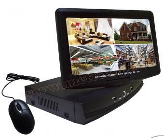 Komplett biztonsági HD megfigyelő kamera rendszer, DVR rögzítővel  10