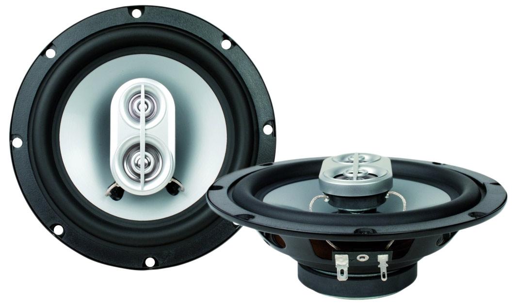 Caliber CDS 16 16,5 cm-es 3 utas koaxiális hangszóró pár