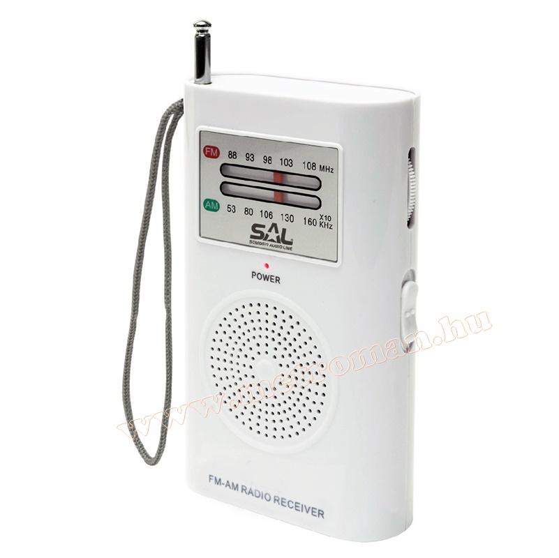AM/FM zseb rádió SAL RPC 2B