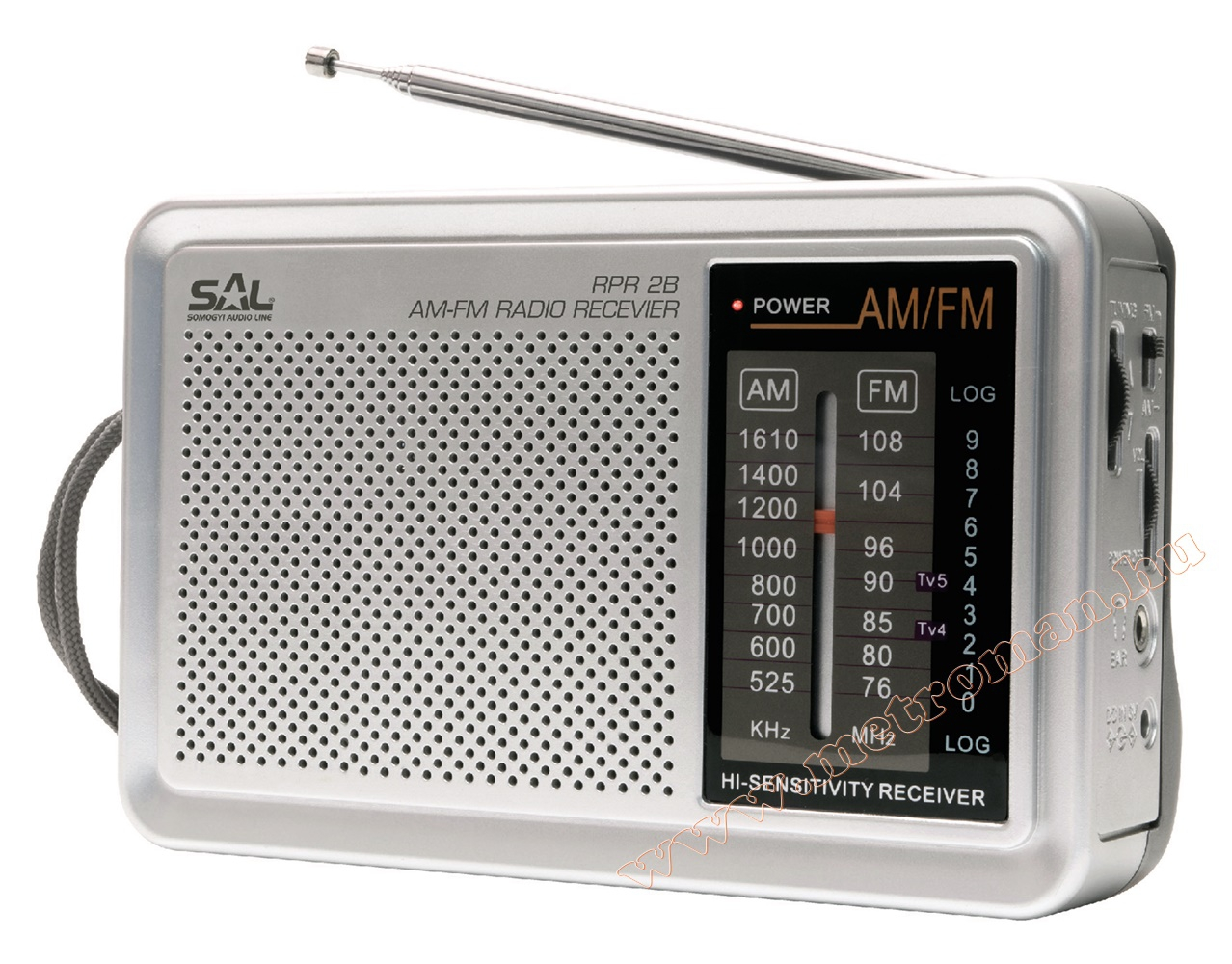 AM/FM Táska Rádió, SAL RPR 2B