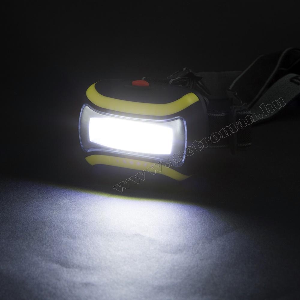 COB LED fejlámpa, 18602