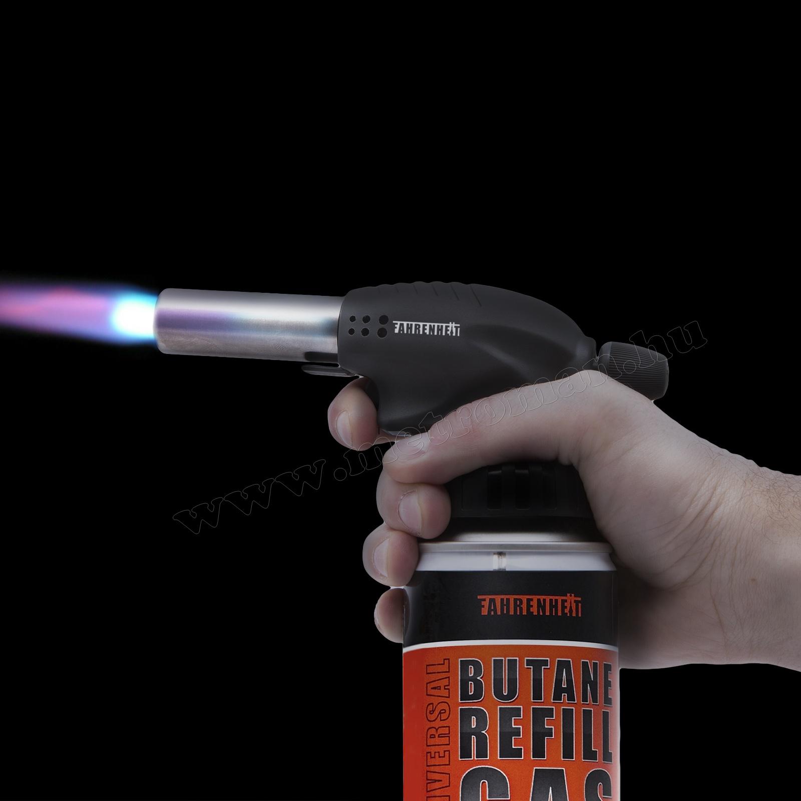 Gázüzemű forrasztófej piezos gyújtással, Fahrenheit 28089