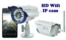 Vezeték nélküli, kültéri HD Wifi IP kamera, interneten keresztül vezérelhető, Camspot 4.1
