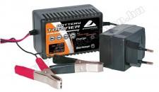 Autós akkumulátor csepptöltő, 12V 300mA Automax 1357