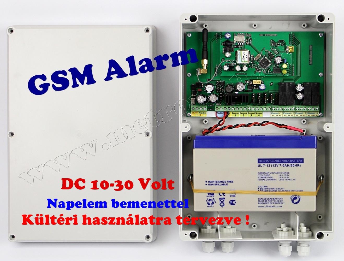 Kültéri GSM riasztó szett Mlogic KMM-GSMR-101