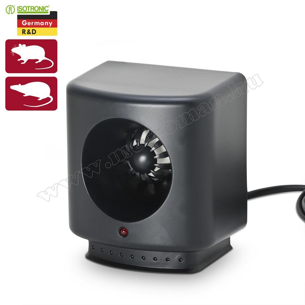 Elektromos ultrahangos patkány, egér riasztó, Isotronic XL 200