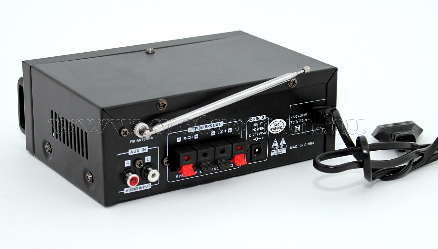 Mini hordozható és autós Karaoke erősítő USB/SD/MP3 lejátszóval Mlogic MM-004