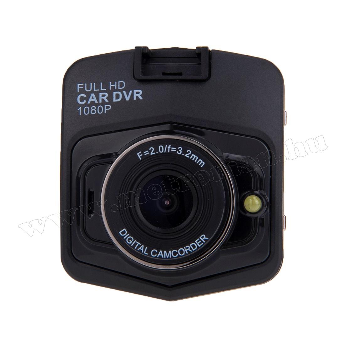 Autós menetrögzítő kamera, Full HD , DVR FHD1/BK