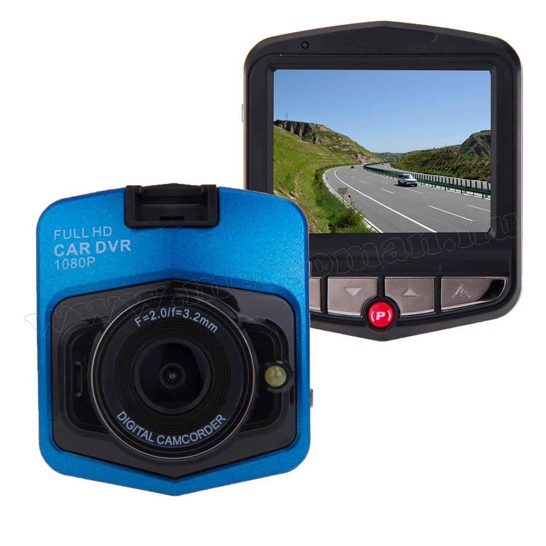 Autós menetrögzítő kamera, Full HD , DVR FHD1/BL