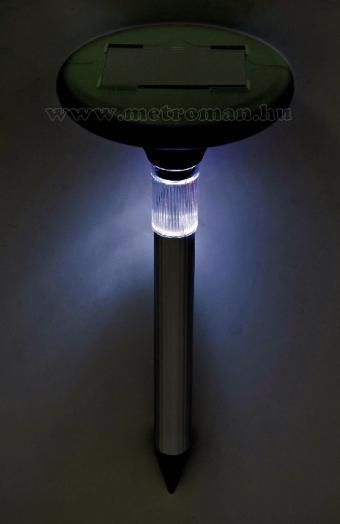 Napelemes vakondriasztó LED fénnyel, VKS 04