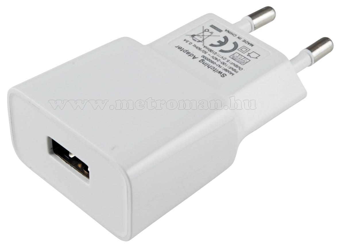 USB töltő, hálózati adapter SA 2100USB