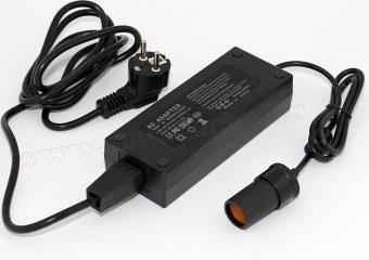 Hálózati adapter szivargyújtó aljzattal, 230/12 V, 12,5 Amper
