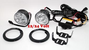 Nappali menetfény LED, DRL, E jeles, 902HP EX 12/24 Volt