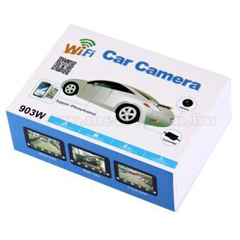 Vezeték nélküli Wifi Kamera, Tolatókamera jeltovábbító mobiltelefonhoz, Mlogic MM903W RCA