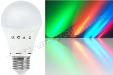 Színváltó LED izzó A60RGBE27