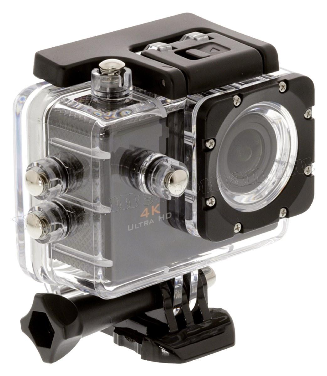 Vízálló extrém sport és akció kamera ACAM40 4K UHD WIFI