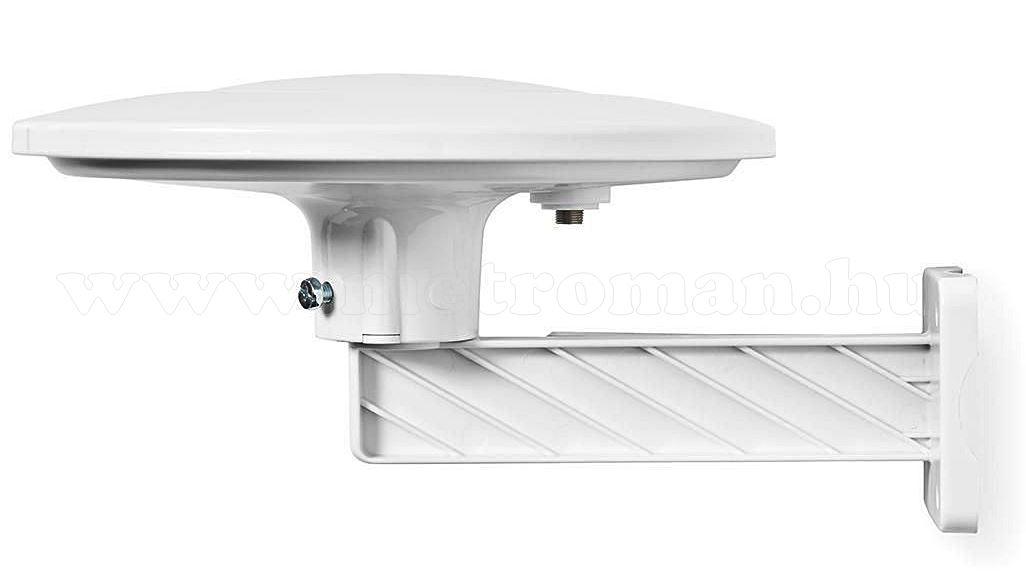 Kül és beltéri Kemping Lakókocsi Hajó HD TV antenna fehér ANOR5003BK700