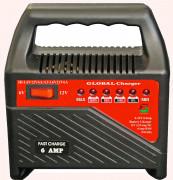 Akkutöltő 6 Amper 6-12 V AT-L6V12V6A