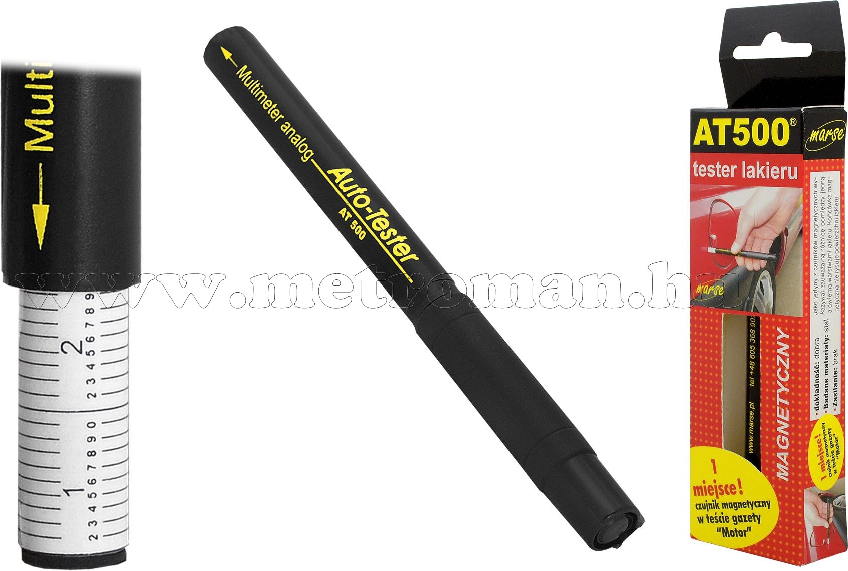 Festék rétegvastagság tesztelő ceruza AT-500