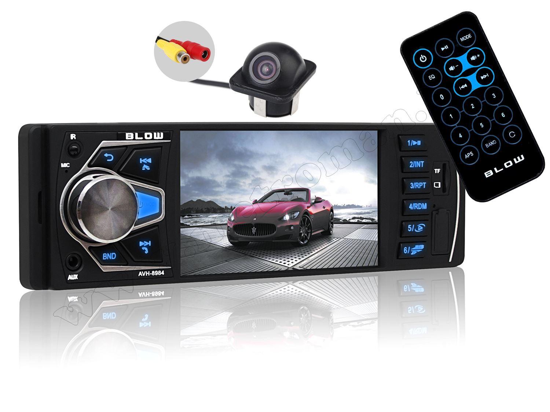 USB/SD MP3 MP4 MP5 Bluetooth Multimédiás autórádió LCD monitorral és tolatókamerával AVH-8984CAPS0229