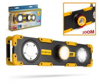 Akkumulátoros fókuszálható COB LED reflektor PHENOM 18649