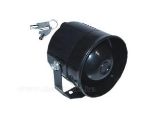Akkumulátoros sziréna 20 W BBUS20W
