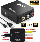 3RCA VIDEO / HDMI átalakító, konverter MM1125HDMI