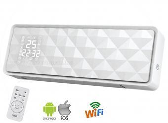 Android iOS WifiElektromos ventilátoros fali fűtőtest FKF 54202-WIFI