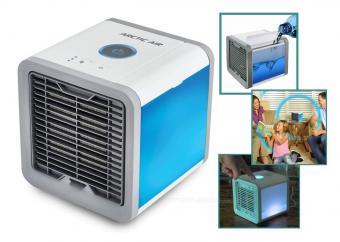 Asztali léghűtő párásító ventilátor MM1554USB