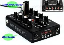 Audió 2 csatornás Karaoke Keverőpult USB MP3 és Bluetooth zenelejátszóval VK500BT