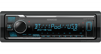 USB / AUX / MP3 / Bluetooth autó rádió Kenwood KMM-BT306