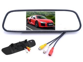Autós LCD monitor tolatókamerához visszapillantó tükörre Mlogic MM4130