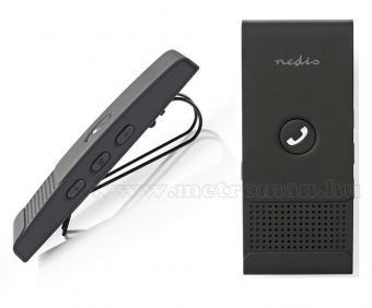 Autós Bluetooth kihangosító Nedis CKIT100BK