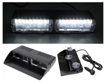 Autós Fehér stroboszkóp LED villogó szélvédőre, Mlogic M5390WL