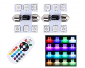 Autós Szofita RGB színváltós LED távirányítóval MM0077RGB