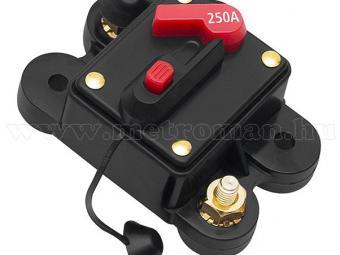 Autós automata biztosíték 12-48 Volt 250 Amper M3778