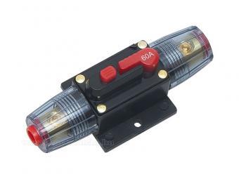 Autós automata biztosíték 12-48 Volt 60 Amper MM3844
